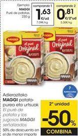 Oferta de Puré de patatas Maggi por 1,63€