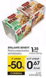 Oferta de Platos preparados Brillante por 1,35€