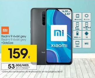 Oferta de Smartphones Xiaomi por 159€