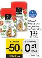 Oferta de Pasta Gallo por 1,22€