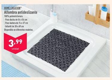 Oferta de Alfombra antideslizante HOME CREATION por 3,99€
