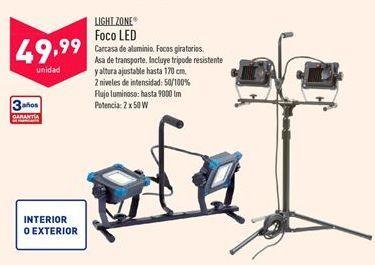 Oferta de Foco led Light Zone por 49,99€