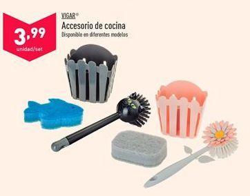 Oferta de Accesorios de cocina VIGAR por 3,99€