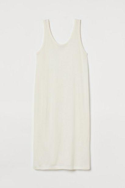 Oferta de Vestido en mezcla de lino por 7,99€