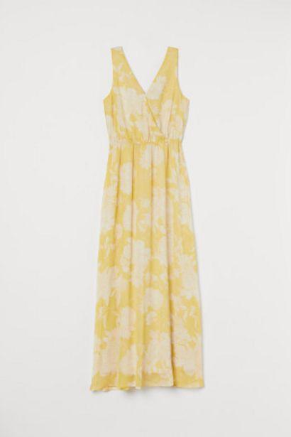 Oferta de Vestido largo de gasa por 19,99€