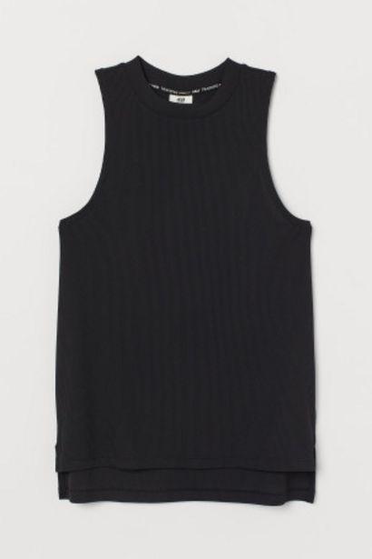 Oferta de Camiseta de deporte en canalé por 3,99€