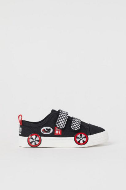 Oferta de Zapatillas deportivas de lona por 5,99€