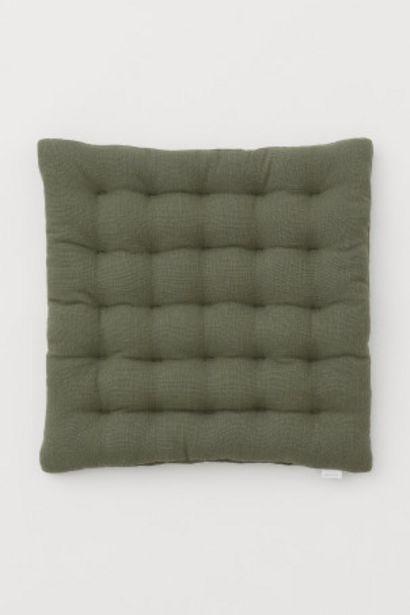 Oferta de Cojín para silla con lino por 5,99€