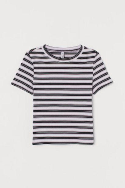 Oferta de Camiseta de canalé por 3,99€