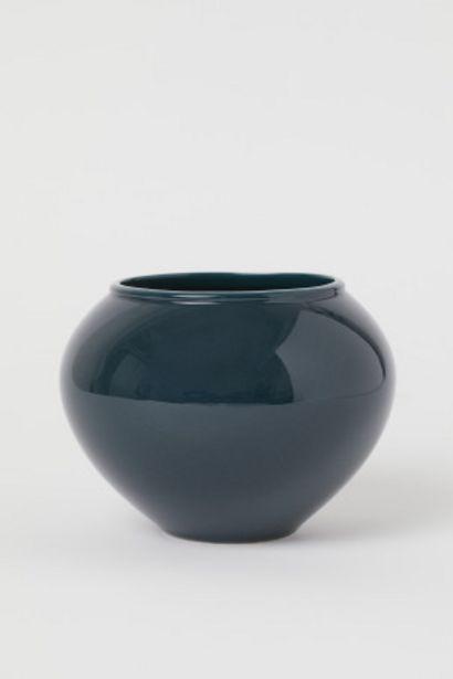 Oferta de Jarrón de cerámica por 10,99€