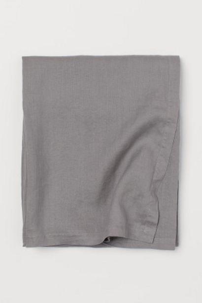 Oferta de Mantel en lino lavado por 29,99€