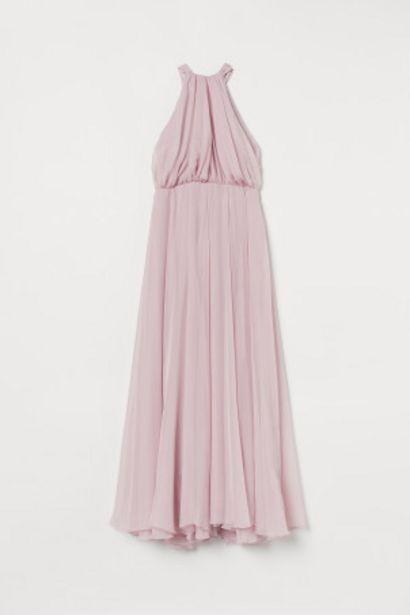 Oferta de Vestido largo de gasa por 24,99€
