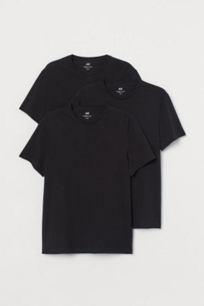 Oferta de 3 camisetas Regular Fit por 6,99€