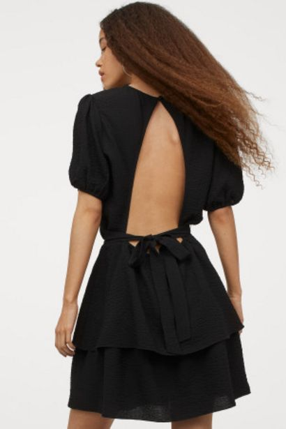 Oferta de Vestido de espalda descubierta por 10,99€