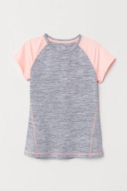Oferta de Camiseta de deporte estampada por 5,99€