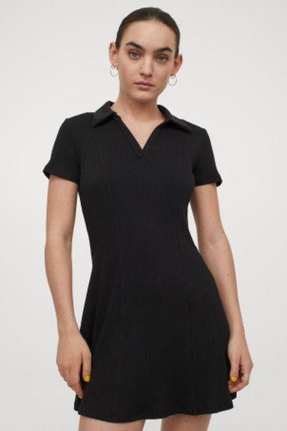 Oferta de Vestido en punto de canalé por 9,99€