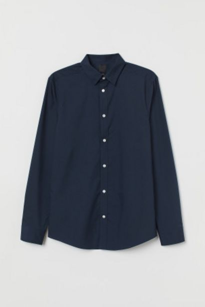 Oferta de Camisa Slim Fit Easy iron por 4,99€