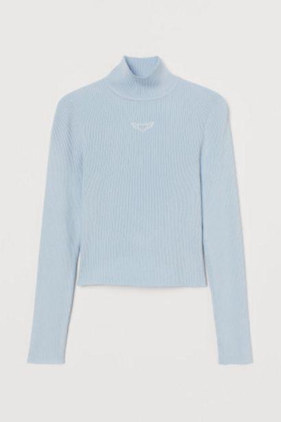 Oferta de Jersey con cuello perkins por 5,99€