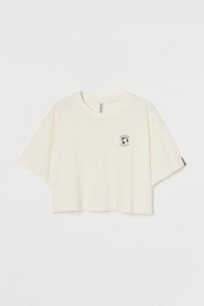 Oferta de Camiseta amplia de punto por 3,99€