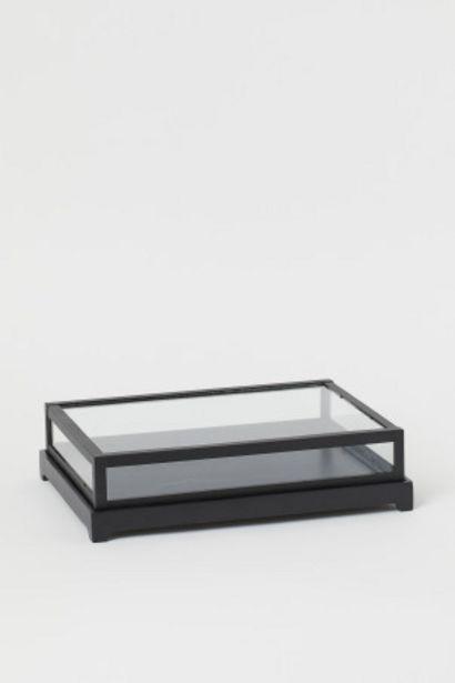 Oferta de Vitrina baja de vidrio por 20,99€