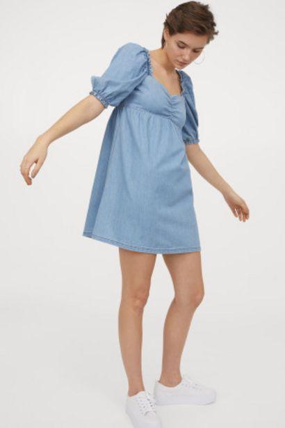 Oferta de Vestido con manga puffy por 8,99€