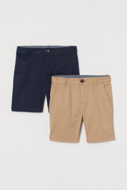 Oferta de Pack de 2 chinos cortos por 10,99€