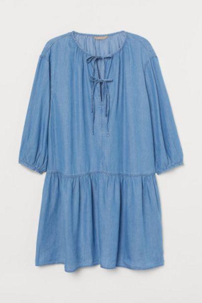 Oferta de H&M+ Vestido de lyocell por 13,99€
