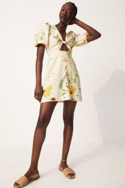Oferta de Vestido con lino por 10,99€