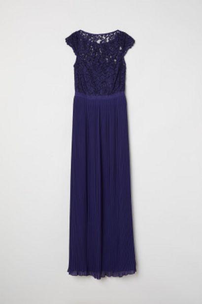 Oferta de Vestido largo plisado por 24,99€