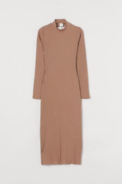 Oferta de Vestido en punto de canalé por 7,99€