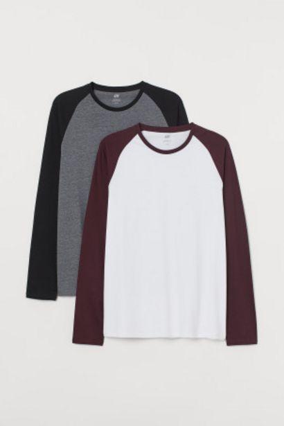 Oferta de Pack 2 camisetas Regular Fit por 14,99€