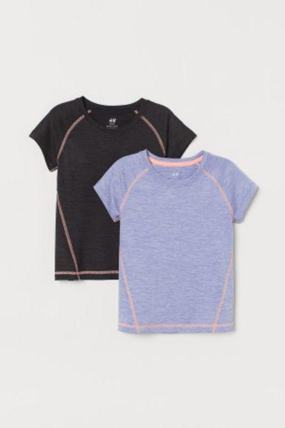 Oferta de 2 camisetas de deporte por 11,99€