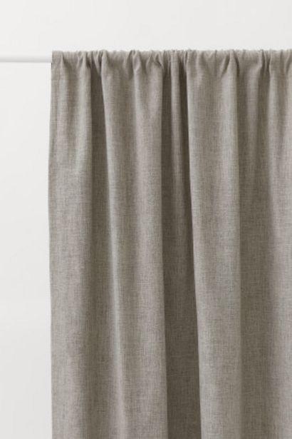 Oferta de Pack de 2 cortinas opacas por 69,99€