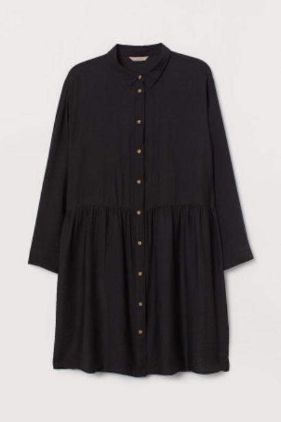 Oferta de H&M+ Vestido camisero por 9,99€