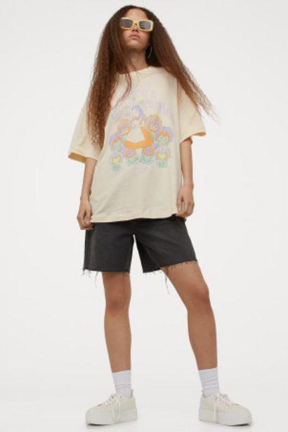 Oferta de Camiseta con motivo estampado por 5,99€