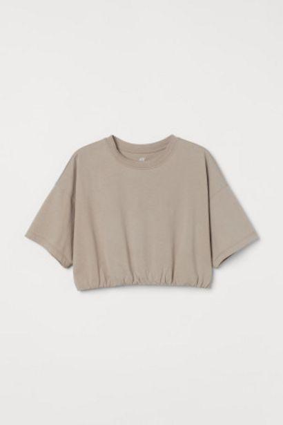 Oferta de Camiseta de deporte cropped por 7,99€