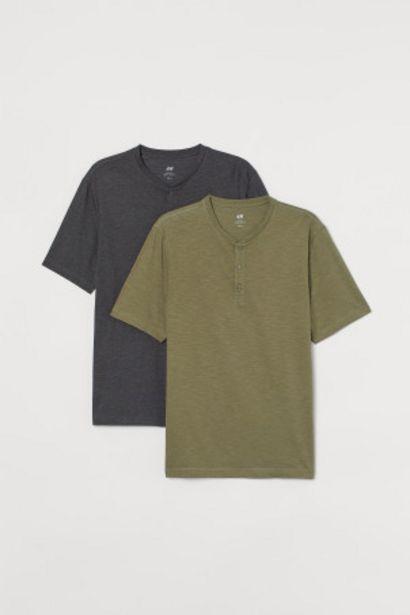 Oferta de Pack de 2 camisetas por 6,99€