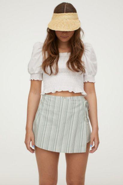 Oferta de Falda pantalón de algodón por 13,99€