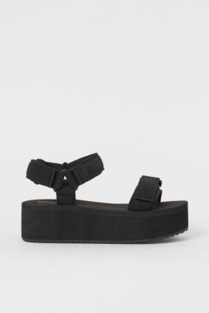 Oferta de Sandalias de plataforma por 12,99€