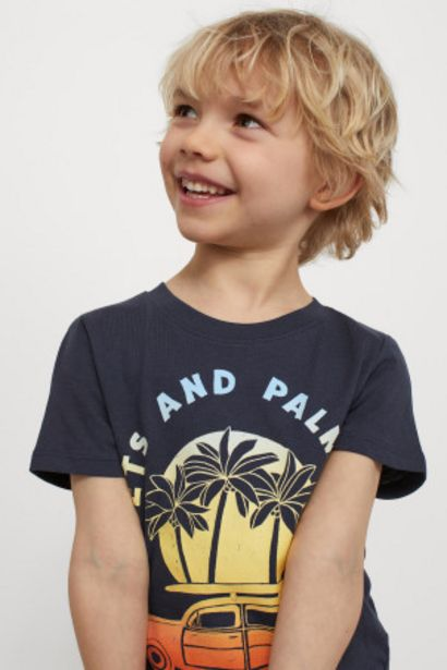 Oferta de Camiseta con motivo estampado por 2,99€