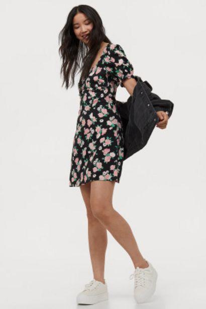 Oferta de Vestido con manga puffy por 7,99€