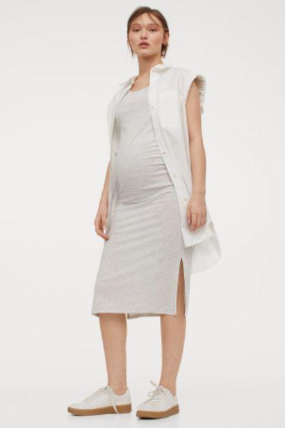 Oferta de MAMA Vestido en canalé por 8,99€
