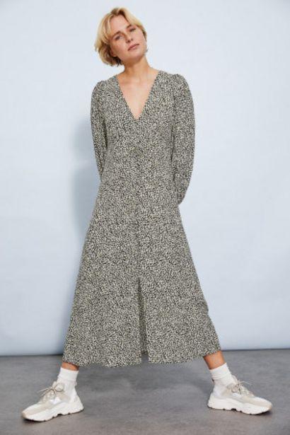 Oferta de Vestido con manga puffy por 12,99€