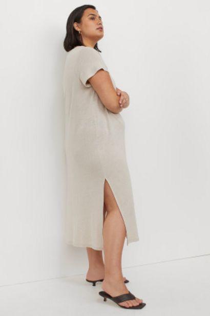 Oferta de H&M+ Vestido en mezcla de lino por 10,99€