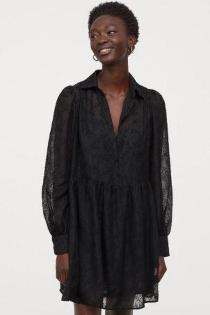 Oferta de Vestido con manga puffy por 14,99€