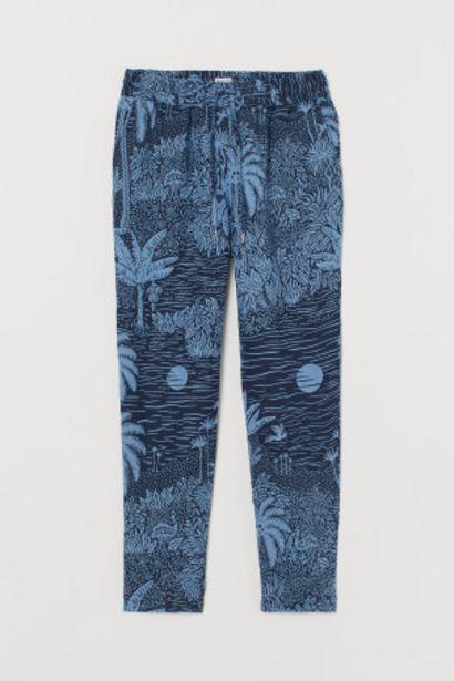 Oferta de Pantalón de lino sin cierre por 11,99€