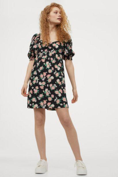 Oferta de Vestido con manga puffy por 9,99€