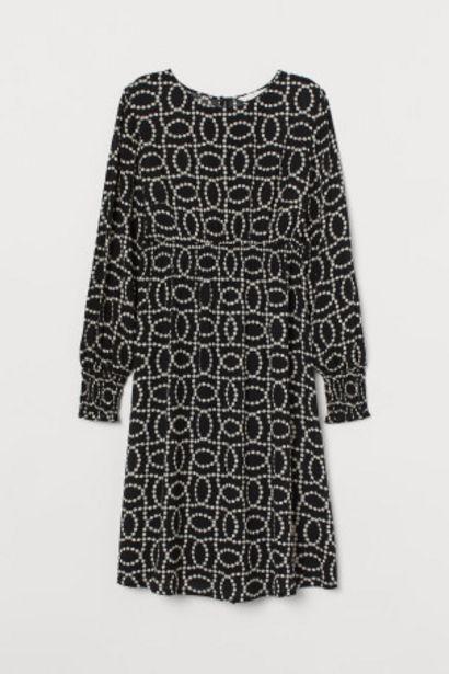 Oferta de MAMA Vestido con fruncido por 10,99€