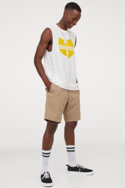 Oferta de Camiseta estampada sin mangas por 4,99€
