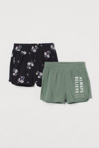 Oferta de Pack de 2 pantalones cortos por 6,99€